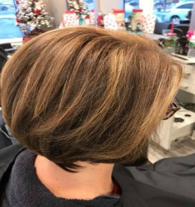 Precision hair cuts in Westborough, MA done by Jenn of the Isabelle Francis Salon